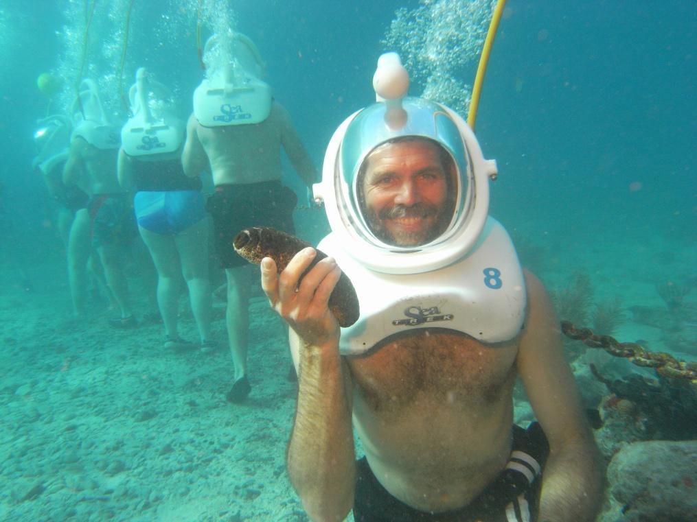 Bermuda Cruise Shore Excursion Information For Helmet Diving