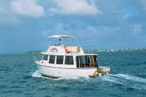 Dive vessel Rainbow Runner in Bermuda