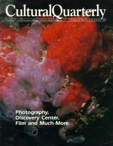 Magazine cover containing article about Bronson and his photography