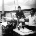 Bronson Hartley and his family in Nassau Bahamas 1960.