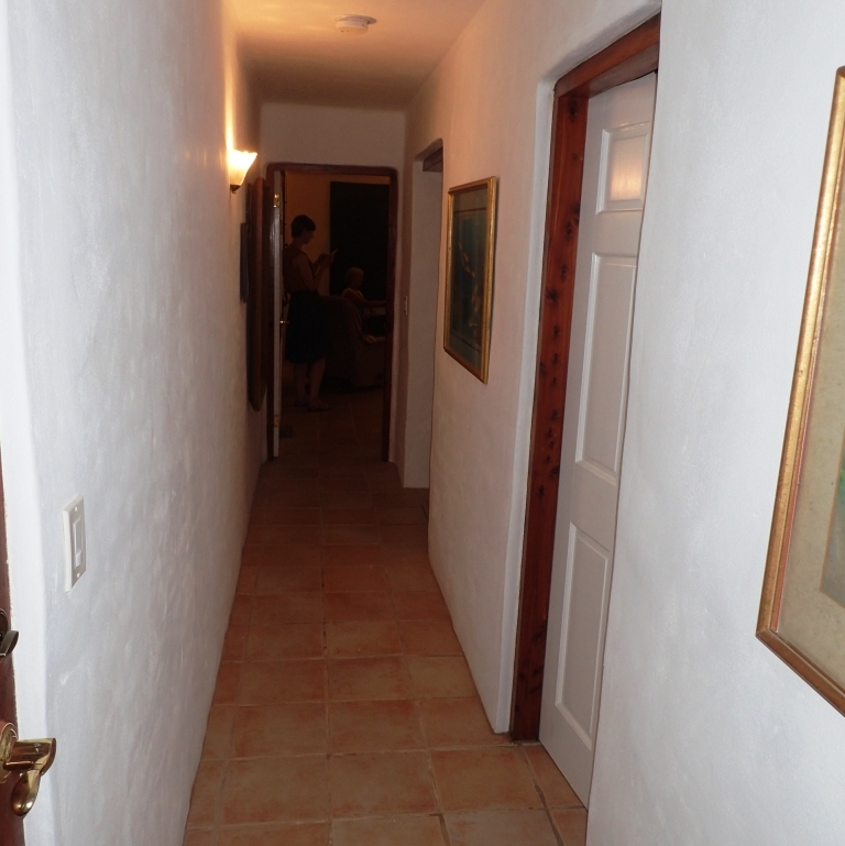 Hallway of Bermuda vacation rental