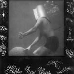 Undersea helmet diving Christmas card