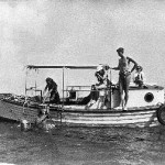 "The ""Ark"" Bronson Hartley's first boat"