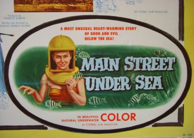 Poster promoting Mainstreet Undersea